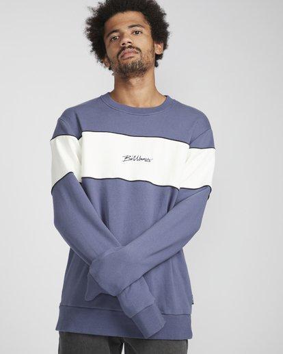 1 Ninety One Crew Sweatshirt Violett N1FL17BIP9 Billabong