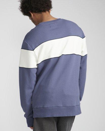 2 Ninety One Crew Sweatshirt Violett N1FL17BIP9 Billabong
