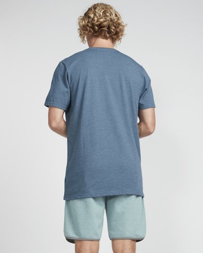 3 All Day Crew T-Shirt Blue N1JE04BIP9 Billabong