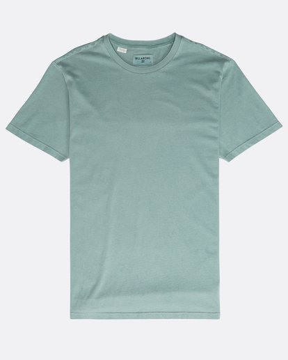 0 All Day Washed Crew T-Shirt Verde N1JE05BIP9 Billabong