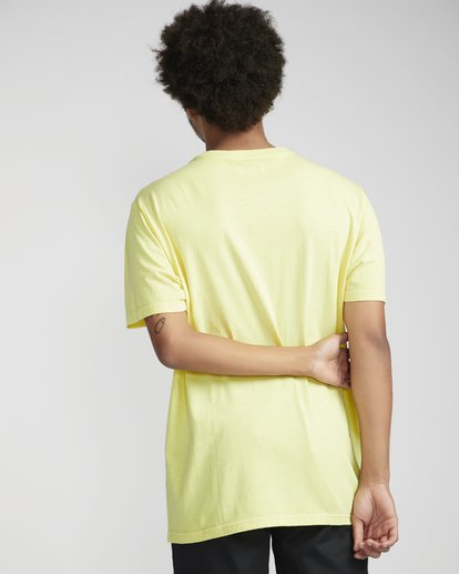 2 All Day Washed Crew T-Shirt Amarillo N1JE05BIP9 Billabong