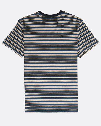 1 Die Cut Stripe Ss Cr Blau N1JE09BIP9 Billabong