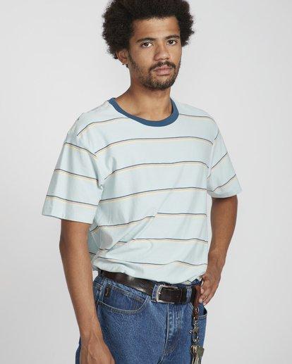 3 Die Cut Stripe Ss Cr Bleu N1JE09BIP9 Billabong