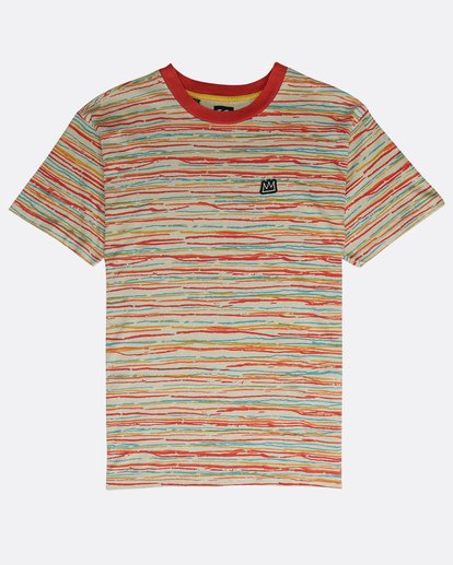 0 Scratch Crew T-Shirt Beige N1JE12BIP9 Billabong