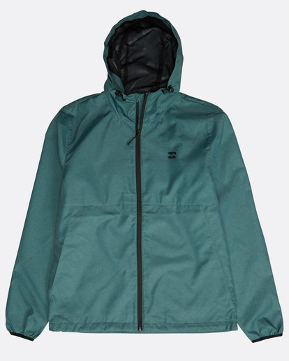 0 Transport Windbreaker Jacket Grün N1JK01BIP9 Billabong