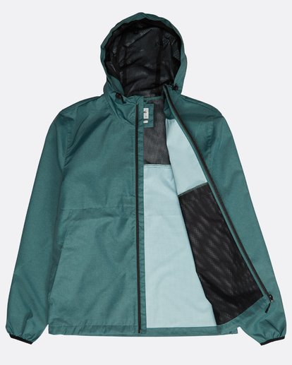 2 Transport Windbreaker Jacket Grün N1JK01BIP9 Billabong