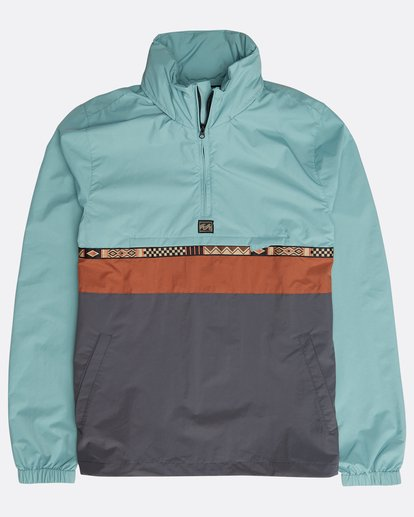 0 Wind Swell Anorak Jacket Grün N1JK02BIP9 Billabong