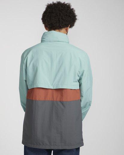 5 Wind Swell Anorak Jacket Grün N1JK02BIP9 Billabong