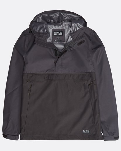 0 Boundary Shell Jacket Noir N1JK03BIP9 Billabong