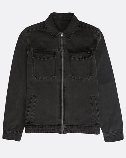 0 Barlow Lite Denim Jacket Noir N1JK06BIP9 Billabong