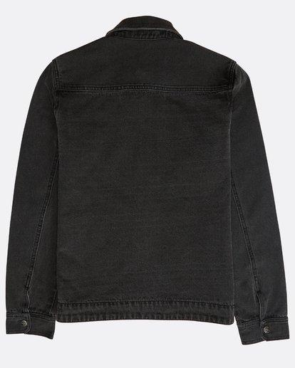 1 Barlow Lite Denim Jacket Noir N1JK06BIP9 Billabong