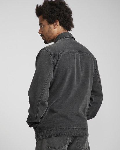 4 Barlow Lite Denim Jacket Noir N1JK06BIP9 Billabong