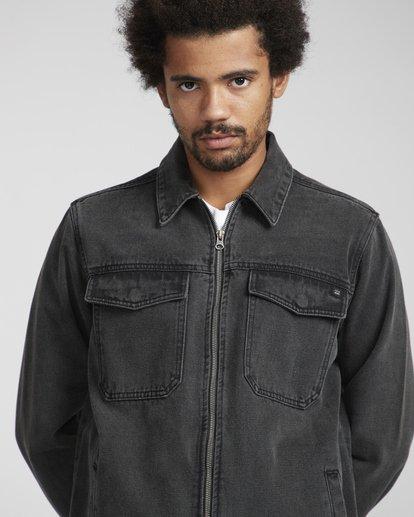 3 Barlow Lite Denim Jacket Noir N1JK06BIP9 Billabong