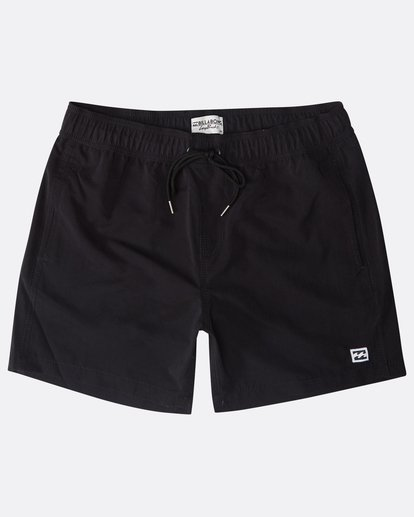 "0 All Day Laybacks 16"" Boardshorts Schwarz N1LB01BIP9 Billabong"