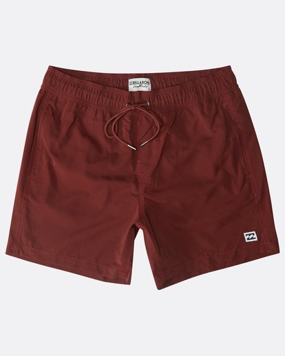 "0 All Day Laybacks 16"" Boardshorts Rot N1LB01BIP9 Billabong"