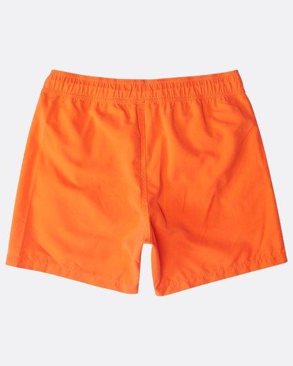 "1 All Day Laybacks 16"" Boardshorts Orange N1LB01BIP9 Billabong"