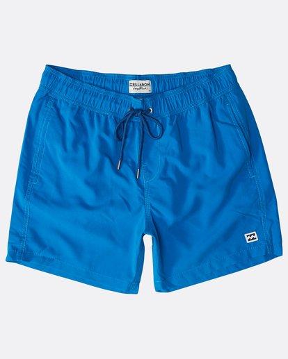 "0 All Day Laybacks 16"" Boardshorts Blau N1LB01BIP9 Billabong"