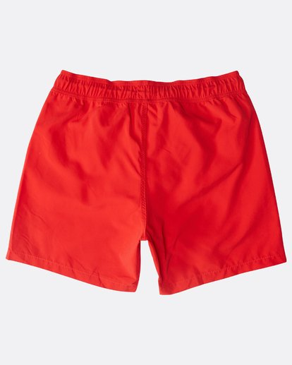 "1 All Day Laybacks 16"" Boardshorts Rojo N1LB01BIP9 Billabong"