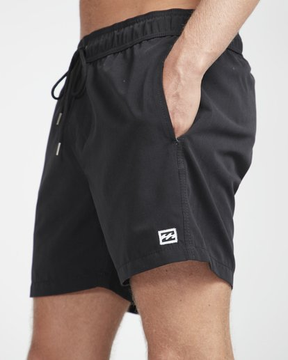 "2 All Day Laybacks 16"" Boardshorts Schwarz N1LB01BIP9 Billabong"