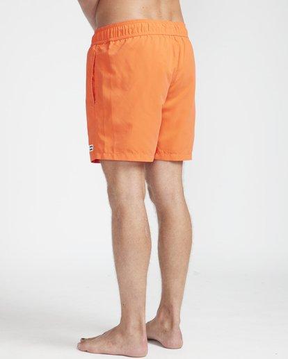 "6 All Day Laybacks 16"" Boardshorts Orange N1LB01BIP9 Billabong"