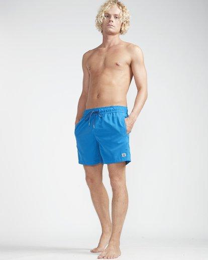 "3 All Day Laybacks 16"" Boardshorts Blau N1LB01BIP9 Billabong"