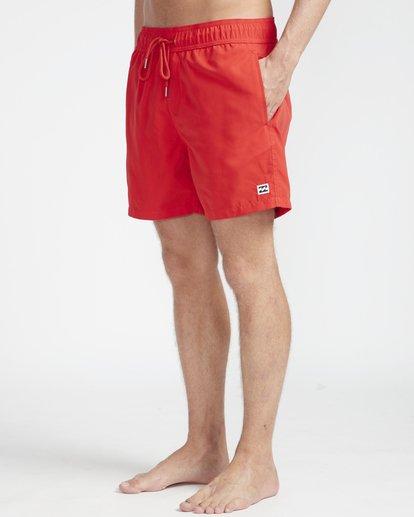 """5 All Day Laybacks 16"""" Boardshorts Rot N1LB01BIP9 Billabong"""