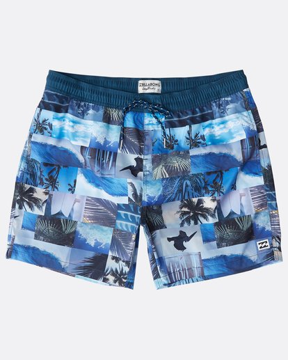 "0 Sundays Laybacks 16"" Boardshorts Azul N1LB04BIP9 Billabong"