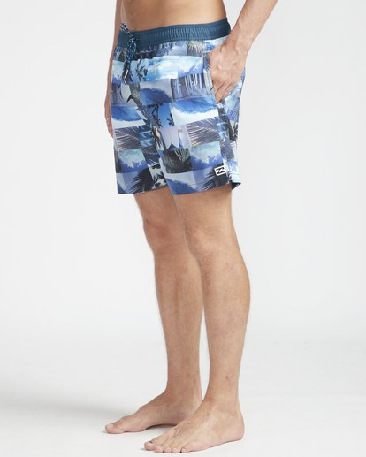"5 Sundays Laybacks 16"" Boardshorts Azul N1LB04BIP9 Billabong"