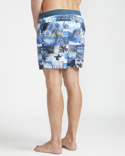 "6 Sundays Laybacks 16"" Boardshorts Azul N1LB04BIP9 Billabong"