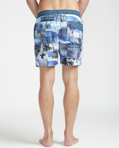 "7 Sundays Laybacks 16"" Boardshorts Azul N1LB04BIP9 Billabong"