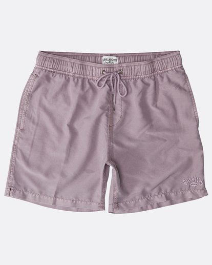 "0 All Day Ovd Laybacks 16"" Boardshorts Violeta N1LB05BIP9 Billabong"