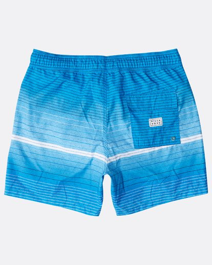 "1 All Day Stripes Laybacks 16"" Boardshorts Azul N1LB06BIP9 Billabong"