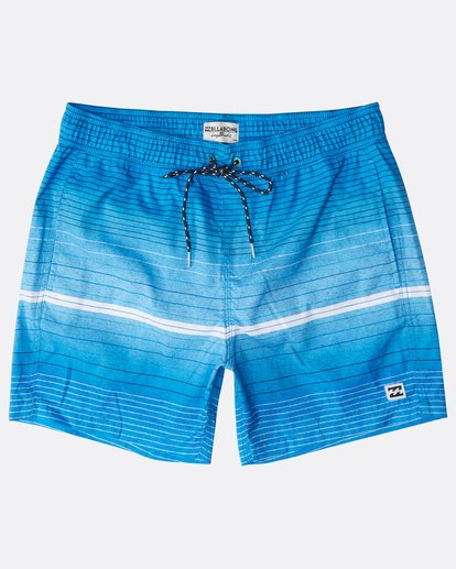 "8 All Day Stripes Laybacks 16"" Boardshorts Azul N1LB06BIP9 Billabong"