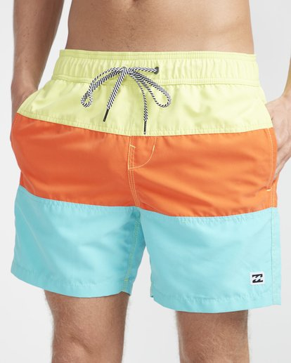 "2 Tribong Laybacks 16"" Boardshorts Gelb N1LB07BIP9 Billabong"