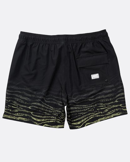 "1 Fifty 50 Stretch Laybacks 16"" Boardshorts Schwarz N1LB11BIP9 Billabong"
