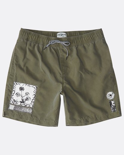 "0 Happy Place Laybacks 16"" Boardshorts  N1LB14BIP9 Billabong"