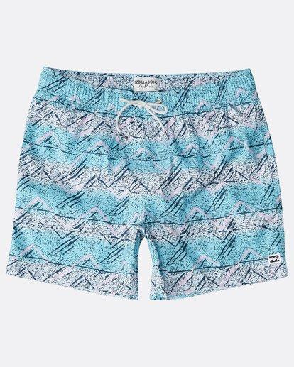 """8 Sunday Pigment Laybacks 16"""" Boardshorts Azul N1LB17BIP9 Billabong"""