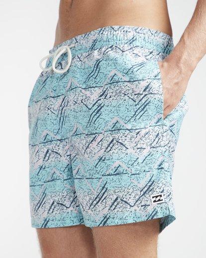"""2 Sunday Pigment Laybacks 16"""" Boardshorts Azul N1LB17BIP9 Billabong"""