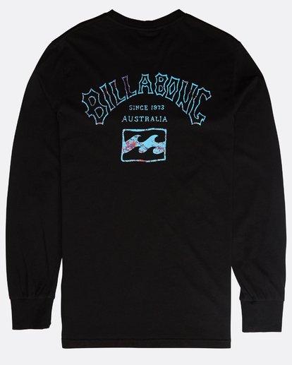 1 Archfire Long Sleeve T-Shirt Schwarz N1LS03BIP9 Billabong