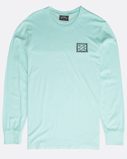 0 Archfire Long Sleeve T-Shirt Grün N1LS03BIP9 Billabong