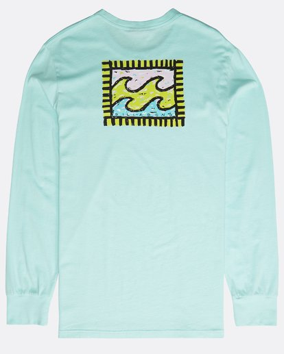 1 Archfire Long Sleeve T-Shirt Grün N1LS03BIP9 Billabong