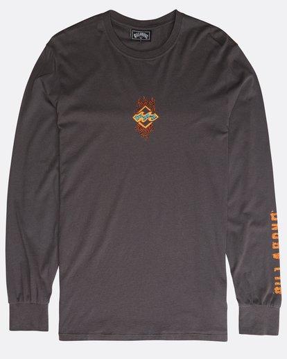 0 Archfire Long Sleeve T-Shirt Grau N1LS03BIP9 Billabong