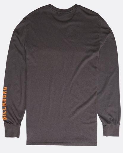 2 Archfire Long Sleeve T-Shirt Grau N1LS03BIP9 Billabong