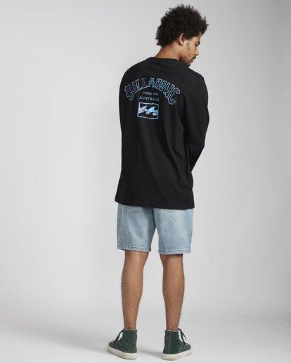 5 Archfire Long Sleeve T-Shirt Schwarz N1LS03BIP9 Billabong