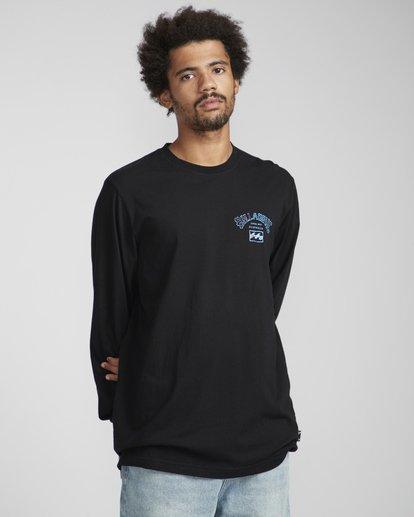 2 Archfire Long Sleeve T-Shirt Schwarz N1LS03BIP9 Billabong