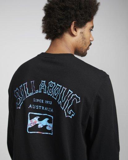 4 Archfire Long Sleeve T-Shirt Schwarz N1LS03BIP9 Billabong