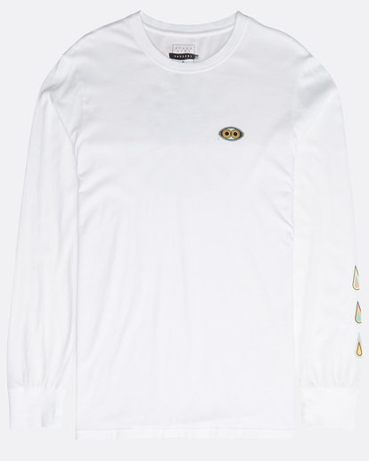 0 Bloom Long Sleeve T-Shirt Weiss N1LS08BIP9 Billabong