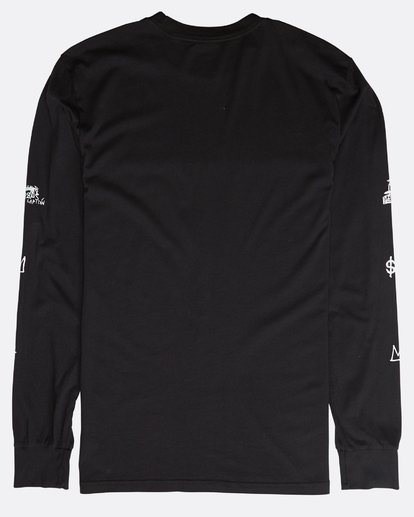 2 Hannibal Long Sleeve T-Shirt Black N1LS10BIP9 Billabong