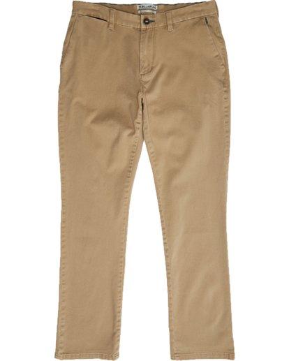 0 New Order Chino Pant Grau N1PT02BIP9 Billabong