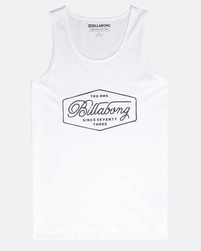 0 Trademark Tank Weiss N1SG05BIP9 Billabong